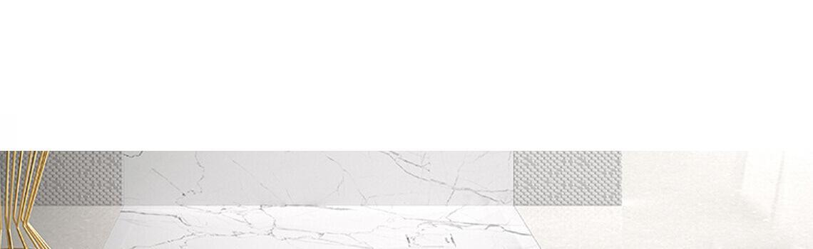 Plato de ducha de resina Gel Coat mármol Calacatta blanco.