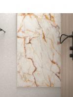 Plato de ducha de resina Gel Coat mármol Crema