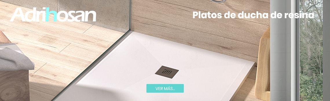 ¿Qué son los platos de ducha de resina textura pizarra?