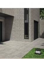 Revestimiento porcelánico rectificado stonehenge deco gris 40x120 cm