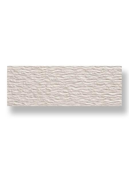 Revestimiento porcelánico rectificado Stonehenge deco White 40x120 cm (1.44 m2/cj)