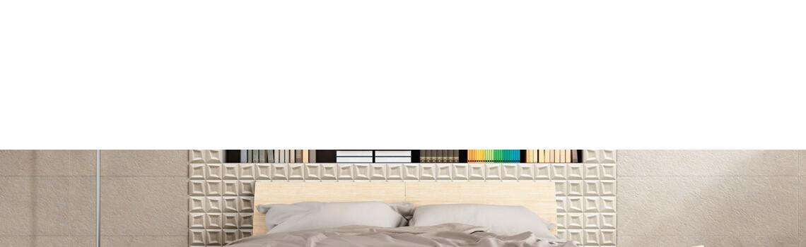 Revestimiento decorado Frame beige 33x33 cm Adrihosan