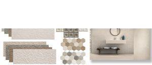 Suelo porcelánico rectificado Stonehenge White 40x120 cm.