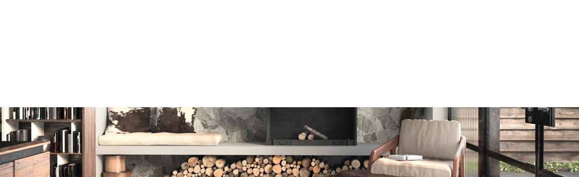Suelo porcelánico Sella Grey 44x66 cm