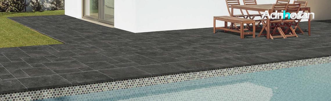 Peldaño técnico porcelánico Borgogna Stone soft 44X66 cm