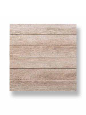 Gres antideslizante imitación madera Irazu natural 45x45 cm.