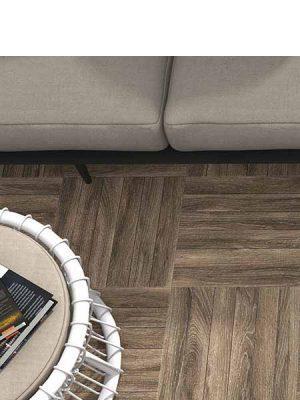 Gres antideslizante imitación madera Irazu roble 45x45 cm