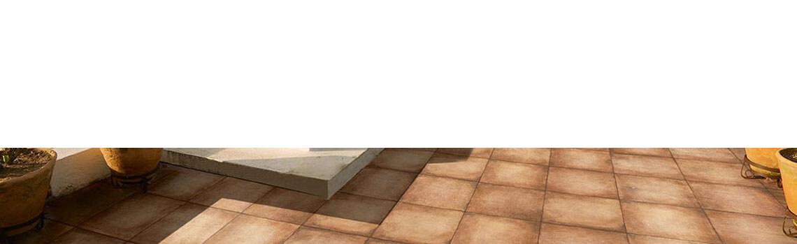 Pavimento antideslizante porcelánico Racamo cotto 33x33 cm.