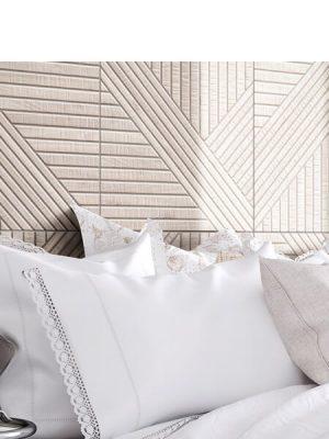 Pavimento porcelánico tangram skin ivory 44X44 cm.