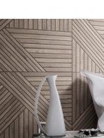 Pavimento porcelánico tangram skin brown 44X44 cm
