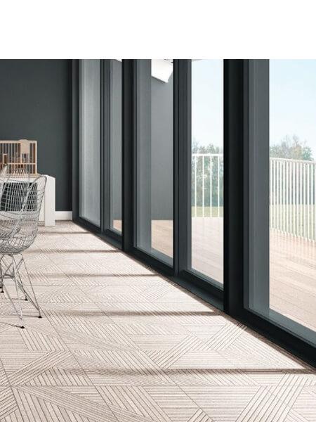 Pavimento porcelánico tangram skin Olive 44X44 cm (1,37 m2/cj)