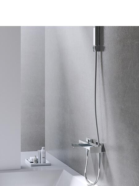 Monomando bañera cube cromado Martelli Made in Italy