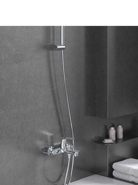 Monomando bañera Livorno cromado Martelli Made in Italy