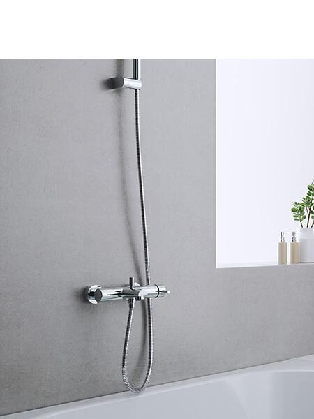 Monomando bañera minimal cromado Martelli Made in Italy