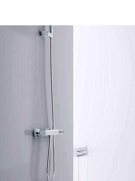 Monomando ducha minimal cromado Martelli Made in Italy