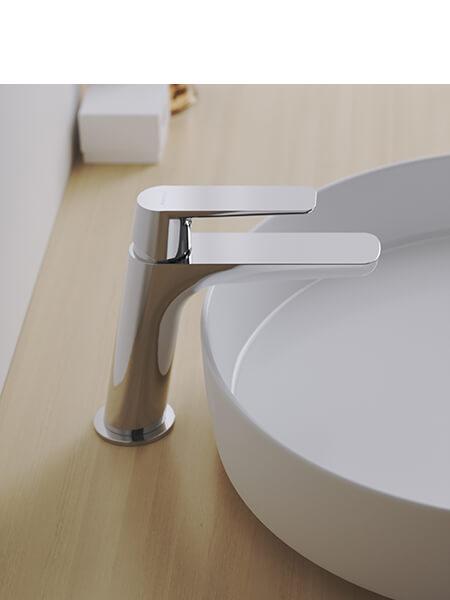 Monomando lavabo Livorno cromado Martelli Made in Italy