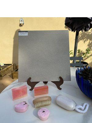 Pavimento antideslizante porcelánico Silex sand 33x33 cm.