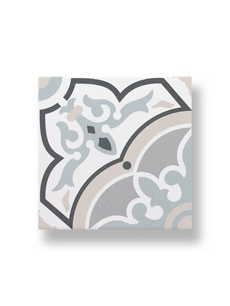 Pavimento porcelánico imitación hidráulico Decor Urban Alba 20 x 20 cm (1,04 m2/cj)
