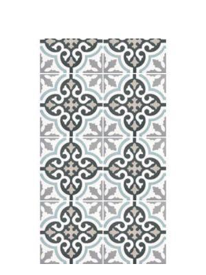Pavimento porcelánico imitación hidráulico decor Urban Calipso 20 x 20 cm.