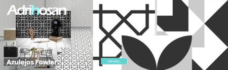 Pavimento porcelánico formas geométricas Flower 15x15 cm