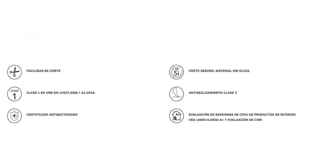 Características de los platos de ducha Acquabella de poliester