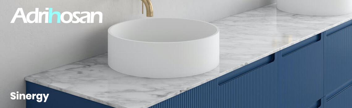 Muebles de baño suspendidos Sinergy de Fiora