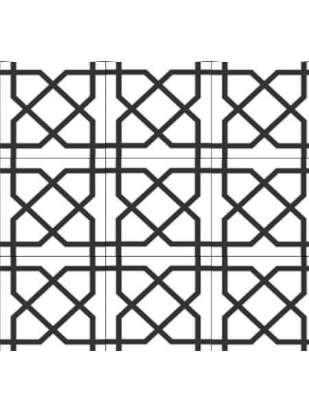 Pavimento porcelánico formas geométricas Flower Addon 15x15 cm (0,95 m2/cj)