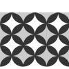 Pavimento porcelánico formas geométricas Flower Pétalos 15x15 cm
