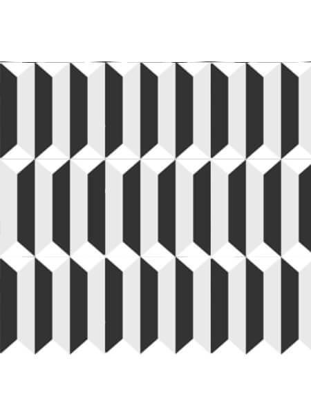 Pavimento porcelánico formas geométricas Flower Pik 15x15 cm (0,95 m2/cj)