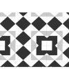 Pavimento porcelánico formas geométricas Flower Tirm 15x15 cm