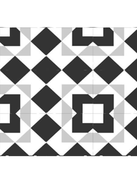 Pavimento porcelánico formas geométricas Flower Tirm 15x15 cm (0,95 m2/cj)