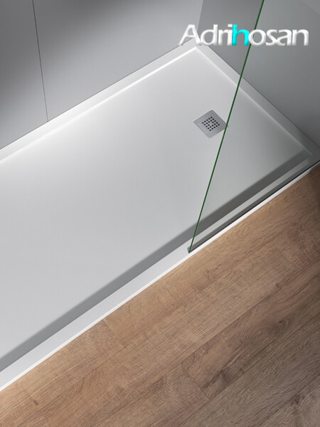 Plato de ducha de poliuretano Arq Zero de Acquabella