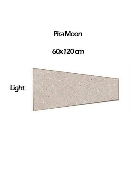 Pavimento porcelánico rectificado técnico Pira Moon light 60x120 cm (0,54 m2/cj)