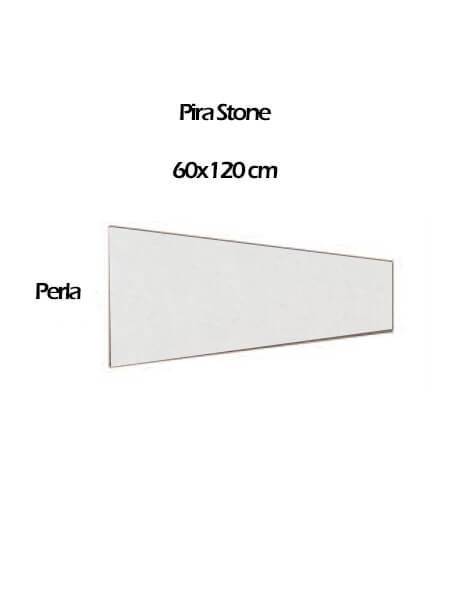 Pavimento porcelánico rectificado técnico Pira Stone Perla 60x120 cm (0,54 m2/cj)