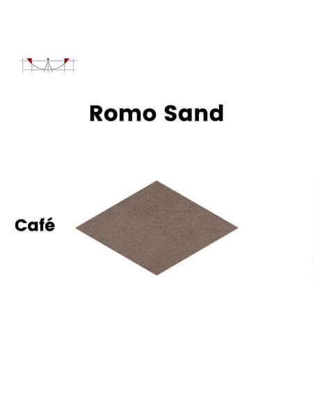 Pavimento porcelánico rectificado técnico Romo Sand Café 85x150 cm (1,28 m2/cj)