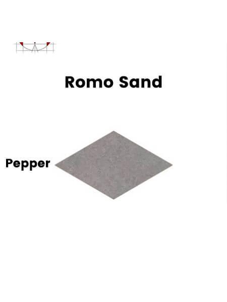 Pavimento porcelánico rectificado técnico Romo Sand Pepper 85x150 cm (1,28 m2/cj)