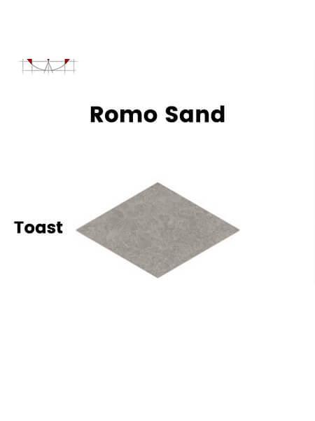 Pavimento porcelánico rectificado técnico Romo Sand Toast 85x150 cm (1,28 m2/cj)