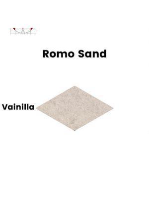 Pavimento porcelánico rectificado técnico Romo Sand Vainilla 85x150 cm.