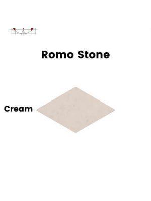Pavimento porcelánico rectificado técnico Romo Stone Cream 70x120 cm.