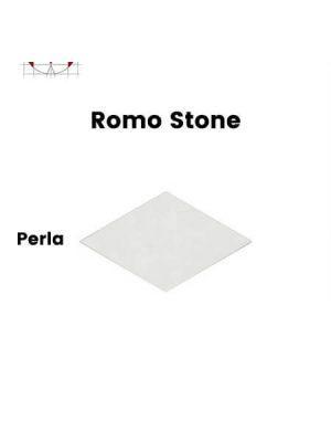 Pavimento porcelánico rectificado técnico Romo Stone Perla 70x120 cm.