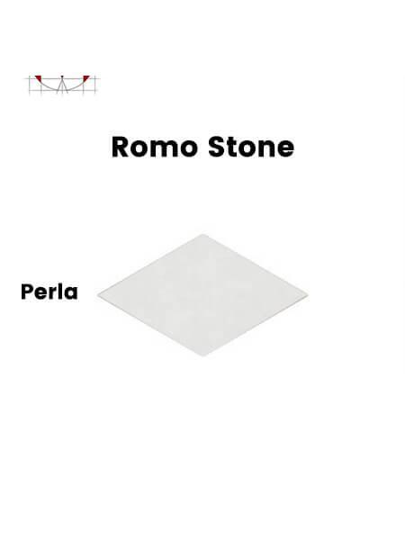 Pavimento porcelánico rectificado técnico Romo Stone Perla 70x120 cm (0,84 m2/cj)