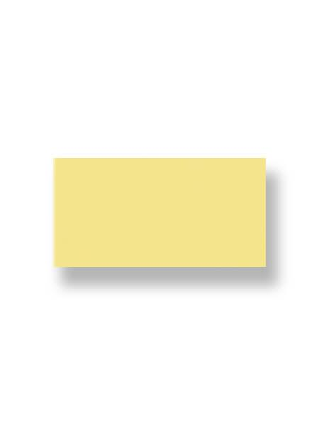 Revestimiento pasta roja liso amarillo 10X30 cm. El clásico azulejo para decoraciones retro o vintage o incluso modernas o minimalistas.