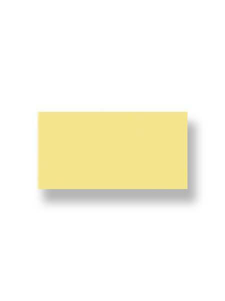 Revestimiento pasta roja liso amarillo 10X30 cm (1.02 m2/cj)