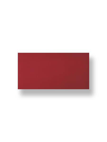Revestimiento pasta roja liso burdeos 10X30 cm (1.02 m2/cj)