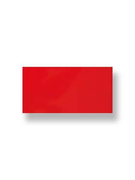 Revestimiento pasta roja liso fuego 10X30 cm (1.02 m2/cj)