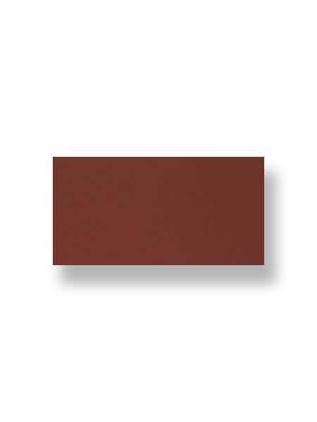Revestimiento pasta roja liso marrón 10X30 cm (1.02 m2/cj)