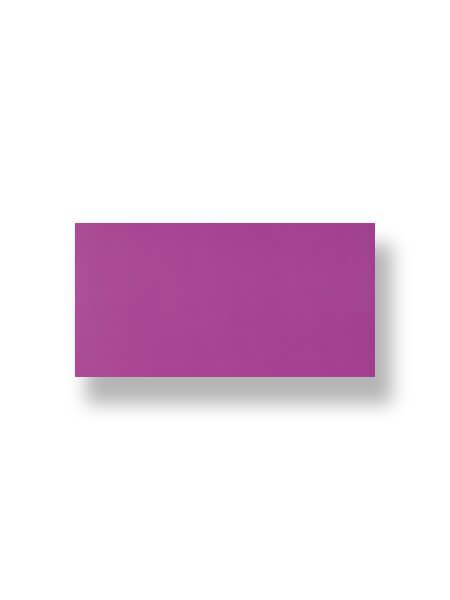 Revestimiento pasta roja liso morado 10X30 cm (1.02 m2/cj)