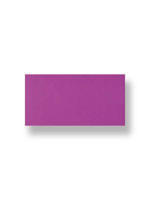 Azulejo liso morado brillo 10X30 cm. El clásico azulejo para decoraciones retro o vintage o incluso modernas o minimalistas. Primera calidad.
