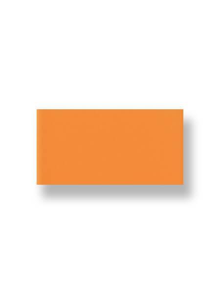 Revestimiento pasta roja liso naranja 10X30 cm (1.02 m2/cj)