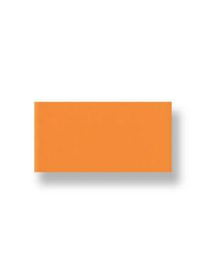 Azulejo liso naranja brillo 10X30 cm. El clásico azulejo para decoraciones retro o vintage o incluso modernas o minimalistas. Primera calidad.
